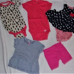 Baby girl clothing lot bundle 3 6 months summer